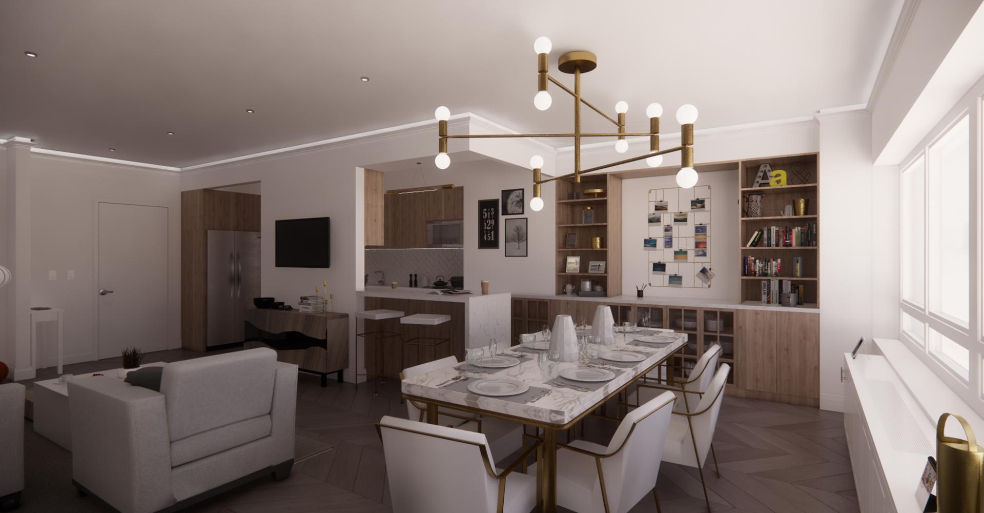 170 West End Apartment Renovation