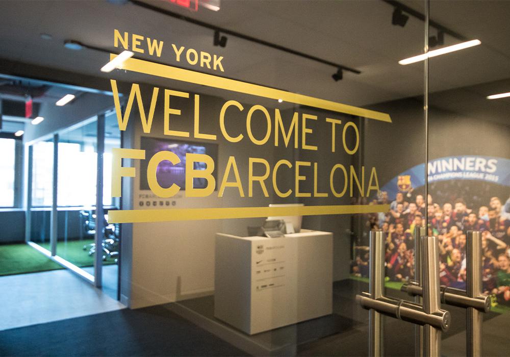 Fútbol Club Barcelona (FCB) NYC Office