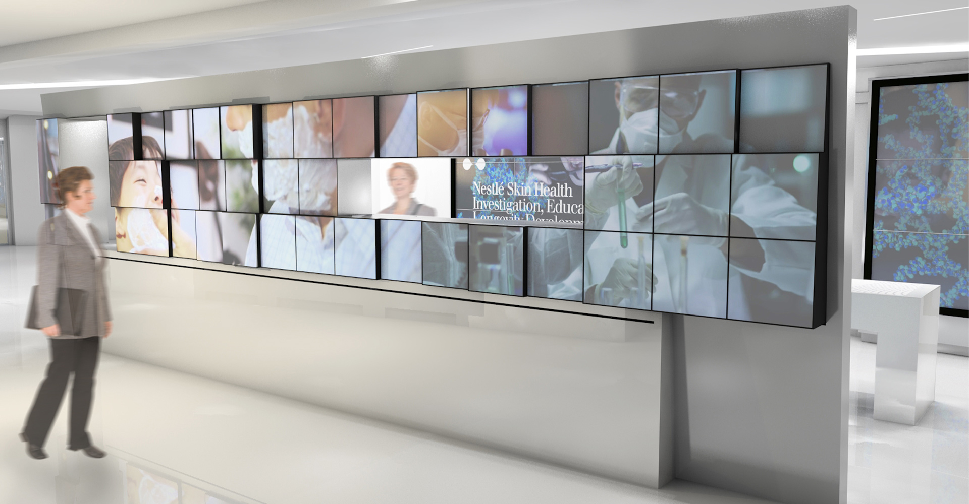 Nestle Skin Health Interactive Space