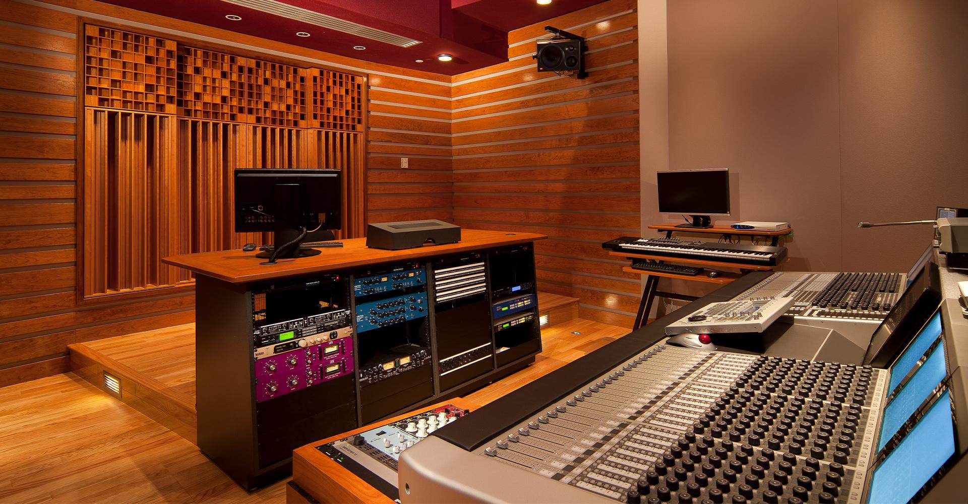 WWE Control Room & Edit Suites
